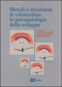 Metodi di valutazione in psicopatologia dello sviluppo - copertina