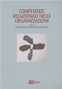 Competenze relazionali nelle organizzazioni - copertina
