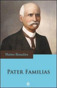 Pater familias - Matteo Bonadies - copertina
