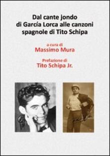 Nicocaradonna.it Dal cante jonde di García Lorca alle canzoni spagnole di Tito Schipa. Con DVD Image