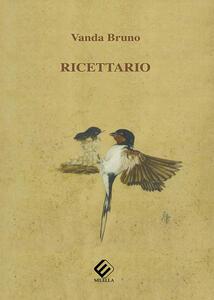Ricettario - Vanda Bruno - copertina