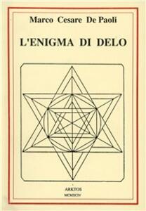 L' enigma di Delo - Marco De Paoli - copertina