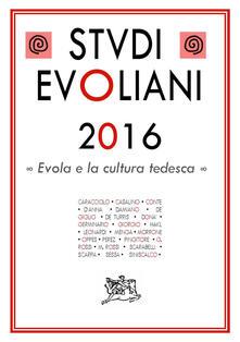 Tegliowinterrun.it Studi evoliani 2016. Evola e la cultura tedesca Image