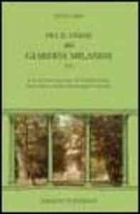 Fra il verde dei giardini milanesi. 1925 - Otto Cima - copertina