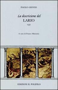 La descrizione del Lario - Paolo Giovio - copertina