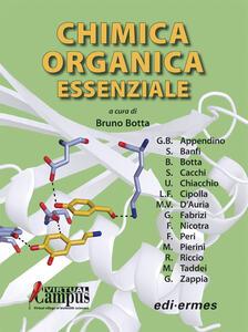 Chimica organica essenziale - copertina