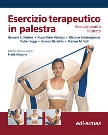 Winniearcher.com Esercizio terapeutico in palestra. Manuale pratico illustrato Image