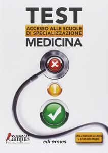 Test di accesso alle scuole di specializzazione medicina - copertina