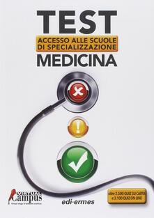 Recuperandoiltempo.it Test di accesso alle scuole di specializzazione medicina Image