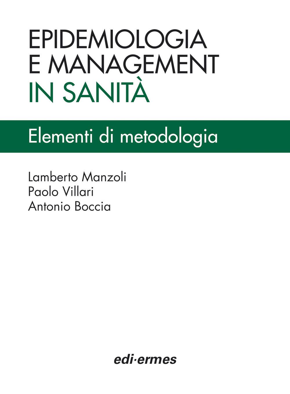 Epidemiologia e management ...