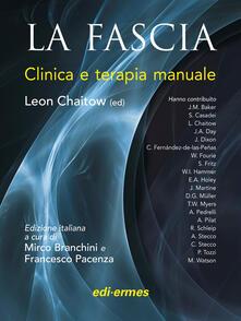 La fascia. Clinica e terapia manuale - Leon Chaitow - copertina