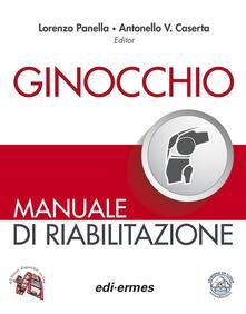 Ginocchio. Manuale di riabilitazione - copertina