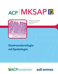 Gastroenterologia ed epatologia. MKSAP. Con espansione online - American College of Physicians - copertina