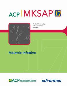 Malattie infettive. MKSAP. Con espansione online - American College of Physicians - copertina