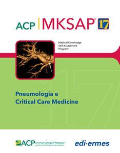 Pneumologia e Critical Care Medicine. MKSAP. Con espansione online - American College of Physicians - copertina
