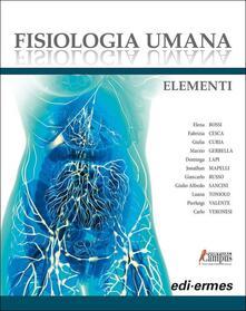 Daddyswing.es Fisiologia umana. Elementi. Con Contenuto digitale per download e accesso on line Image