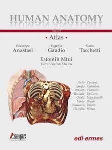 Human anatomy. Atlas. Con Contenuto digitale per accesso on line. Vol. 1 - copertina