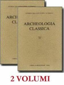 Archeologia classica. Vol. 24