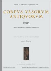 Corpus vasorum antiquorum. Vol. 1: Roma, Museo nazionale di Villa Giulia (1).
