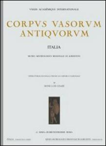 Corpus vasorum antiquorum. Vol. 4: Lecce, Museo provinciale Castromediano (1). - copertina