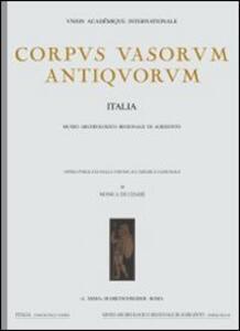 Corpus vasorum antiquorum. Vol. 6: Lecce, Museo provinciale Castromediano (2). - copertina