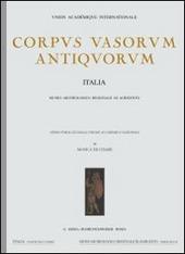 Corpus vasorum antiquorum. Vol. 43: Trieste, Museo civico (1).