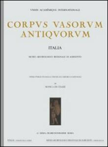 Corpus vasorum antiquorum. Vol. 45: Parma, Museo di antichità (1).