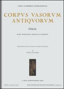 Corpus vasorum antiquorum. Vol. 46: Parma, Museo di antichità (2).