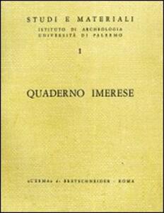 Quaderno Imerese. Vol. 1