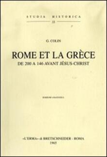 Rome et la Grèce de 200 à 146 avant Jésus Christ (1905)