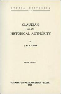 Claudian as an historical authority (1908)