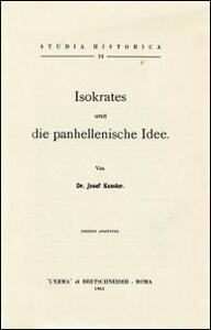 Isokrates und die Panhellenische Idee (1911) - Josef Kessler - copertina