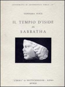Il tempio d'Iside in Sabratha - Gennaro Pesce - copertina