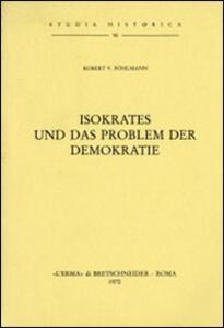 Isokrates und das Problem der Demokratie (1913)