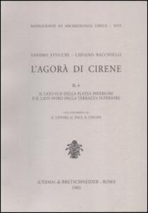 L' agorà di Cirene. Vol. 2\1: L'Area settentrionale del lato ovest della platea inferiore. - Lidiano Bacchielli - copertina
