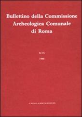 Bullettino della Commissione archeologica comunale di Roma. Vol. 85