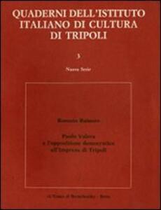 Paolo Valera e l'opposizione democratica all'impresa di Tripoli