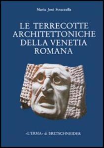 Le terrecotte architettoniche della Venetia romana. Contributo allo studio della produzione fittile nella Cisalpina - M. José Strazzulla - copertina