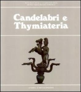 Candelabri e Thymiateria - Antonella Testa - copertina