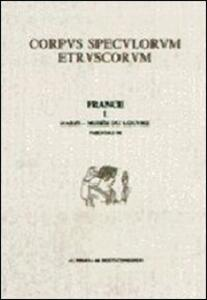 Corpus speculorum etruscorum. France. Vol. 1\2: Paris, Musée du Louvre. - copertina
