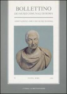 Bollettino dei Musei comunali di Roma. Vol. 4 - copertina