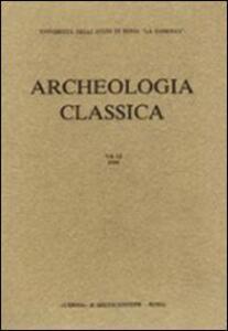 Archeologia classica. Vol. 29\2 - copertina