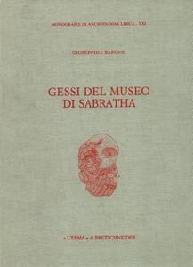 Gessi del Museo di Sabratha - Giuseppina Barone - copertina