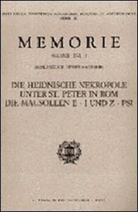 Die heidnische Nekropole unter Sankt Peter. Vol. 2 - Harald Mielsch,Henner von Hesberg - copertina