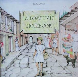 Pompeian notebook (A) - Elisabetta Putini - copertina