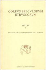 Corpus speculorum etruscorum. Italia. Vol. 2\1: Perugia, Museo archeologico nazionale. - copertina