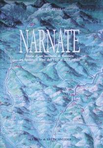 Narnate. Storia di un territorio di frontiera tra Spoleto e Rieti dall'VIII al XIII secolo - Mauro Zelli - copertina