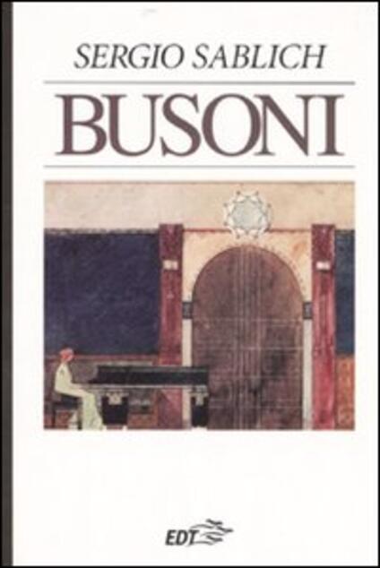 Busoni - Sergio Sablich - copertina