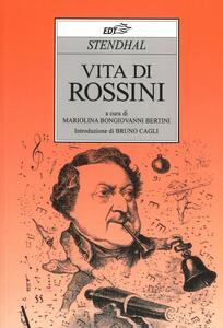 Vita di Rossini - Stendhal - copertina