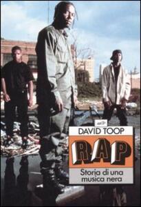 Rap. Storia di una musica nera - David Toop - copertina